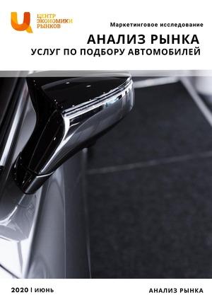 маркетинговое исследование рынка услуг по подбору автомобилей